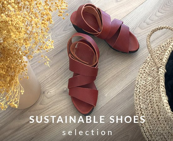 Sustainable shoes selection