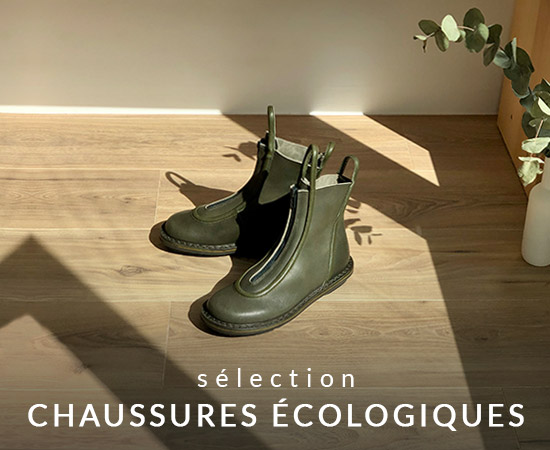 Sélection chaussures écologiques