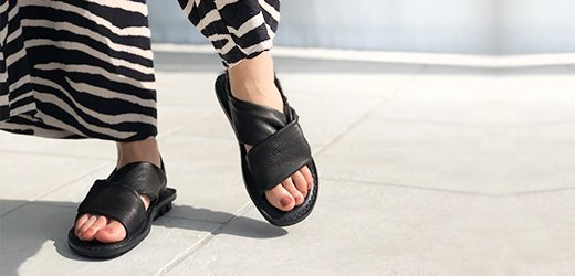 chic and comfortable sandals
